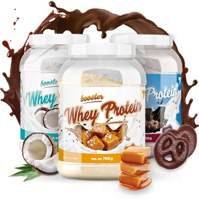 BOOSTER WHEY PROTEIN - Glowne