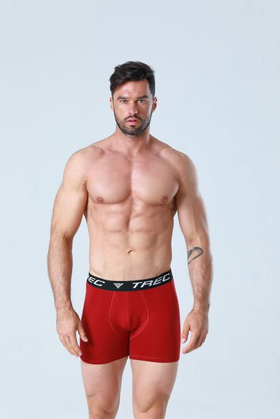 TW BOXER SHORTS 008 MAROON