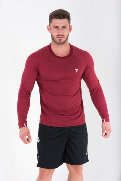 COOLTREC 014 - LONG SLEEVE - MAROON
