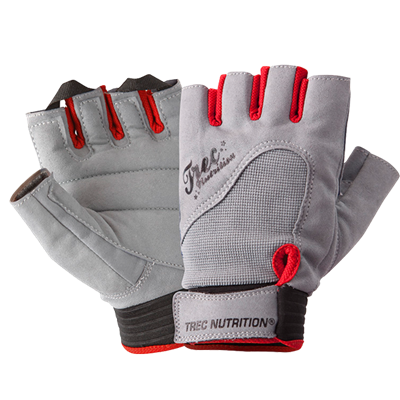 GLOVES LADIES GRAY L
