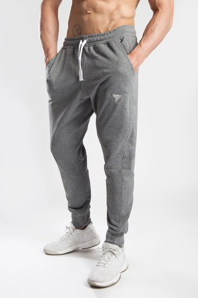 PANTS 040 - DARK GREY MELANGE Glowne