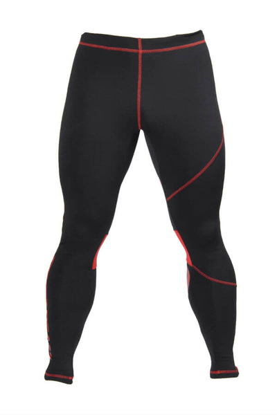 PRO PANTS 003 - BLACK/RED Glowne