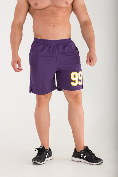 SHORT PANTS - COOLTREC 008 - PURPLE