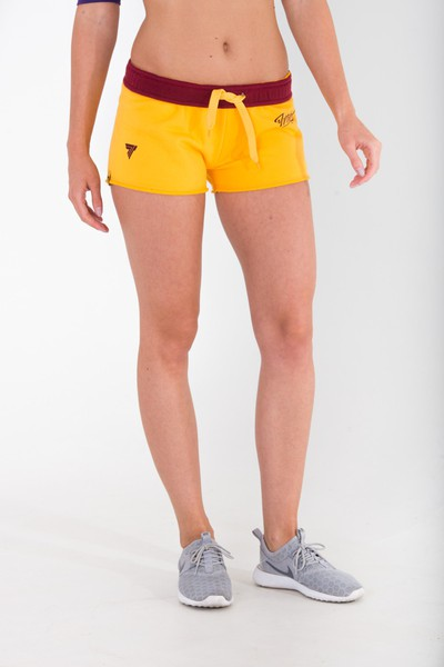 SHORT PANTS - TRECGIRL 001 - YELLOW Glowne