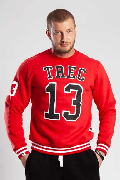 SWEATSHIRT 009 - TREC 13 - RED