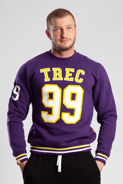 SWEATSHIRT 022 - TREC 99 - PURPLE