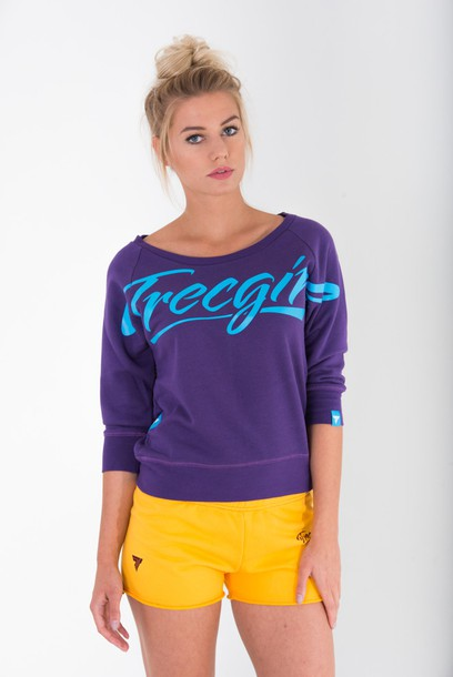 SWEATSHIRT - TRECGIRL 004 - PURPLE