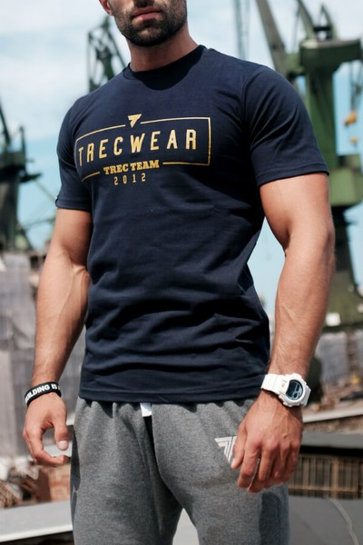 T-SHIRT 044 - BASIC TRECWEAR - NAVY Glowne