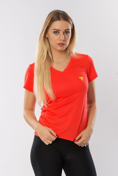 T-SHIRT - COOLTREC 015 - ORANGE