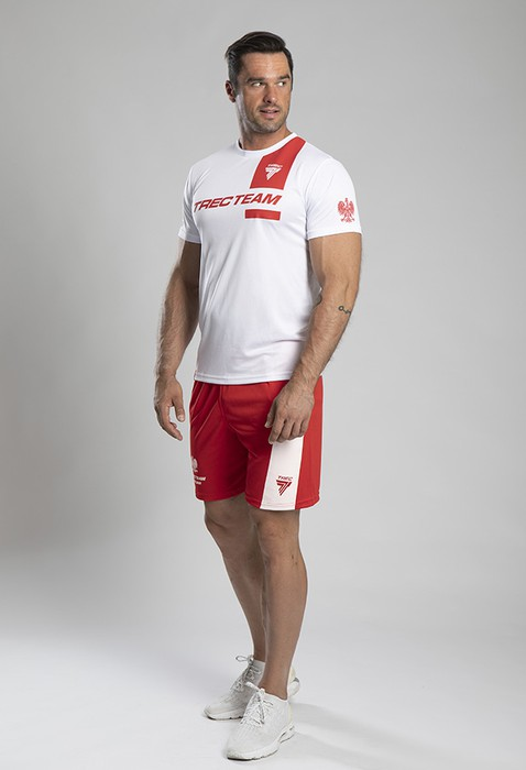 TW SHORT PANTS COOLTREC 010 TTA POLSKA RED