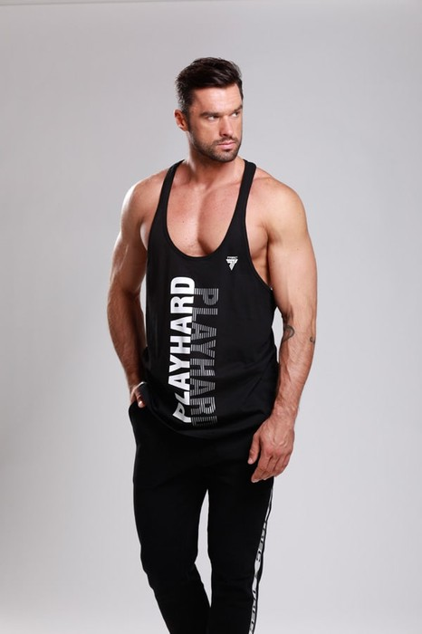 STRINGER 020 STRIPE BLACK