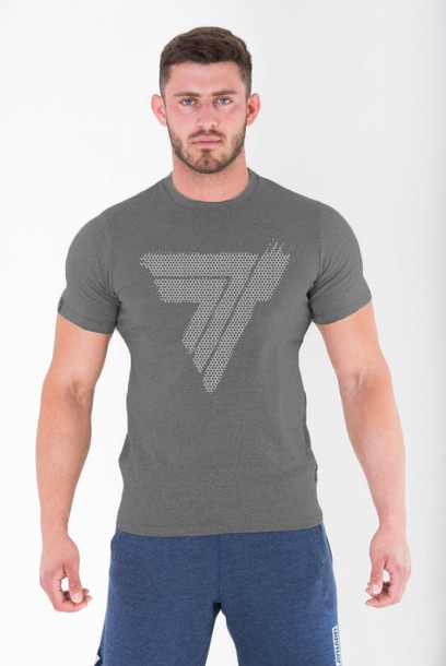 TW TSHIRT PLAYHARD 103 HEX GREY MELANGE