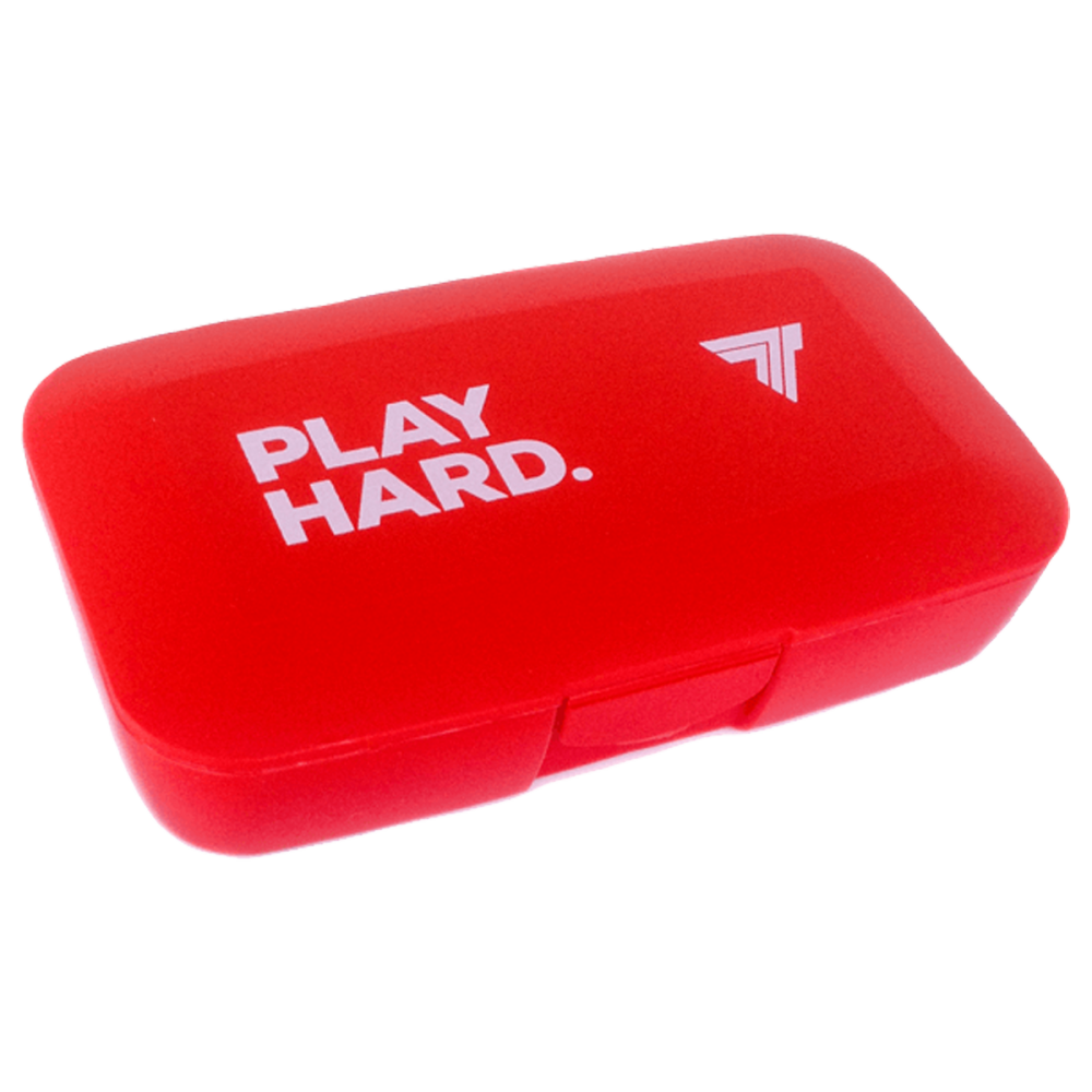 BOX FOR TABLETS - PLAY HARD - RED