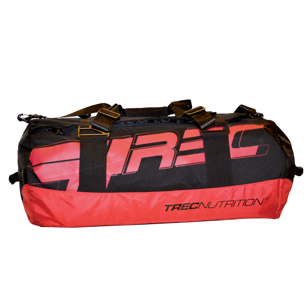 TREC TEAM TRAINING BAG 004 - BLACK-RED