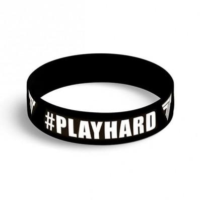 WRISTBAND 086 PLAYHARD BLACK