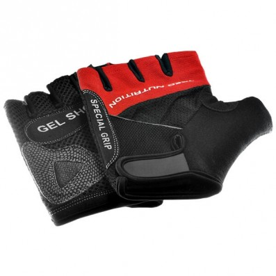 GLOVES GEL SHOCK RED