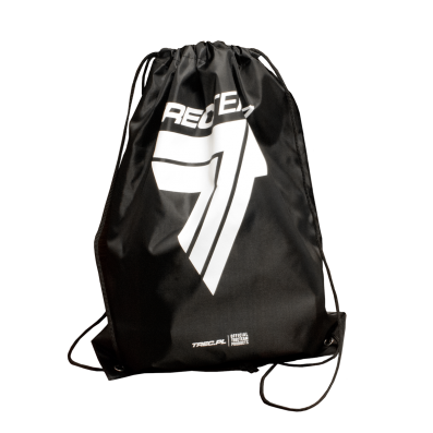 TREC TEAM - DRAWSTRING BAG 01 -  BLACK