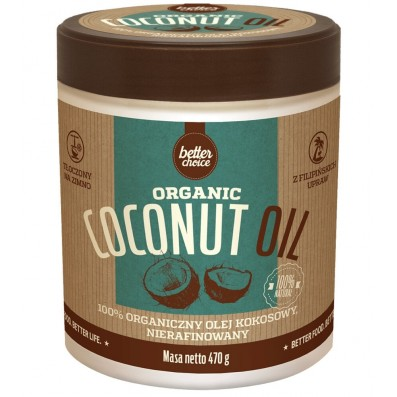 ORGANIC COCONUT OIL - PET -