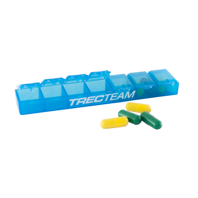 TREC TEAM - WEEK PILL BOX 02 - BLUE