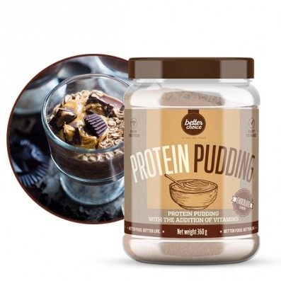 proteinowy pudding