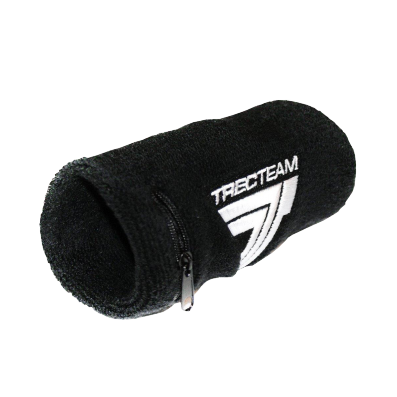 SWEAT-WRISTBANDopaska sportowa - TREC TEAM 001 - BLACK