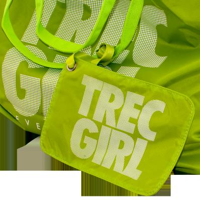 TREC GIRL BAG 003 - NEON GREEN