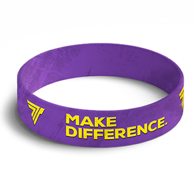 WRISTBAND 018 opaska sportowa - MAKE DIFFERENCE