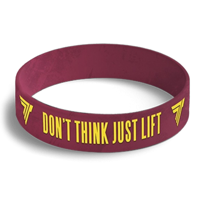 WRISTBAND opaska sportowa 029 - DON'T THING JUST LIFT
