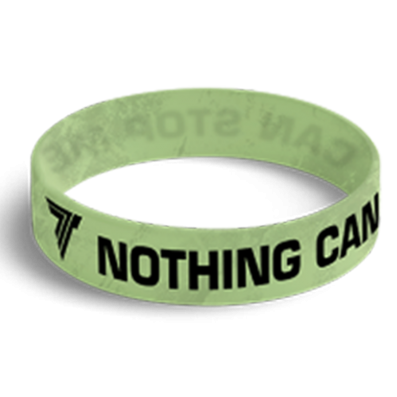 WRISTBAND opaska sportowa 032 - NOTHING CAN STOP ME