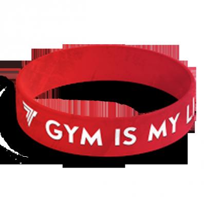 WRISTBAND opaska sportowa 033 - GYM IS MY LIFE