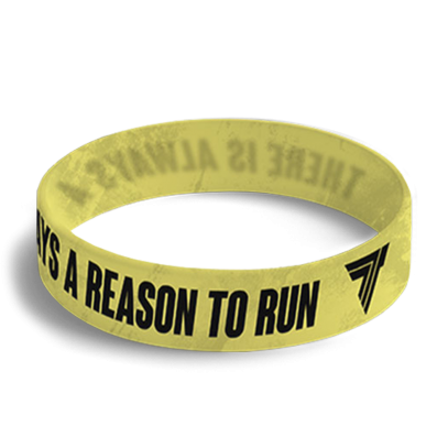 WRISTBAND 037 - opaska sportowa REASON TO RUN