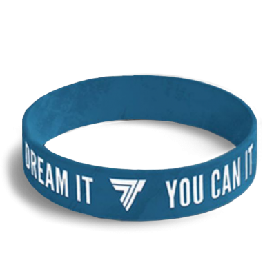 WRISTBAND 038 - opaska sportowa IF YOU CAN DREAM