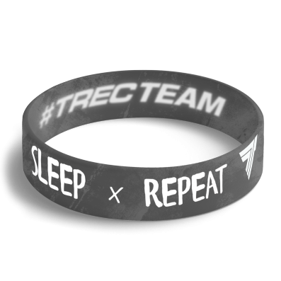 WRISTBAND opaska sportowa 082 - EAT SLEEP TRAIN