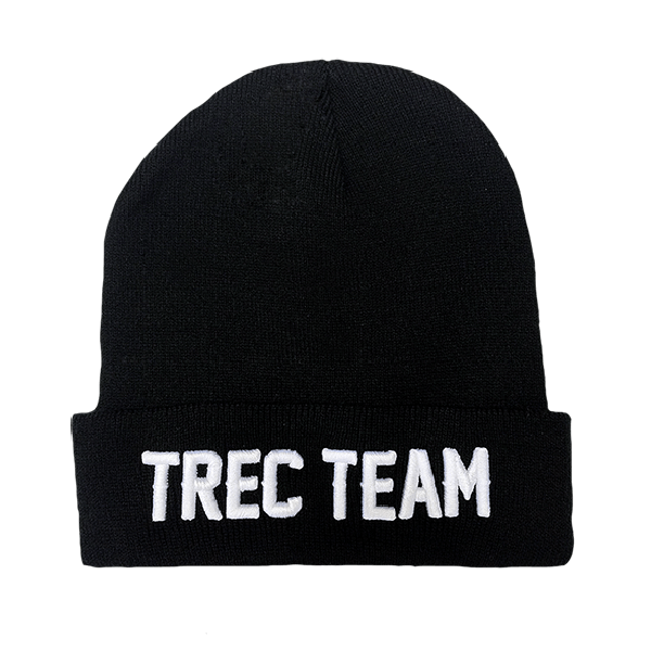WINTER CAP 007 - TREC TEAM - BLACK