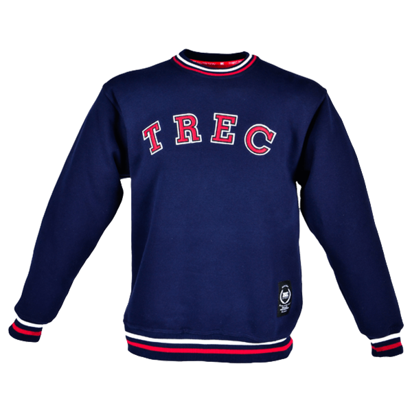 SWEATSHIRT 005 - TREC - NAVY-BLUE