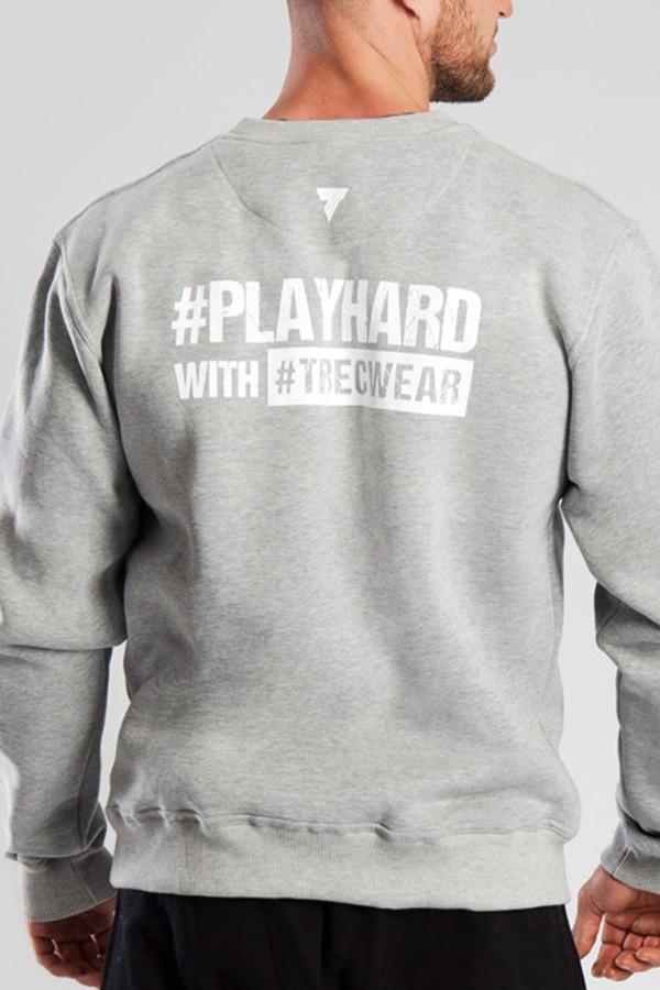 SWEATSHIRT 030 - PLAYHARD - GRAY