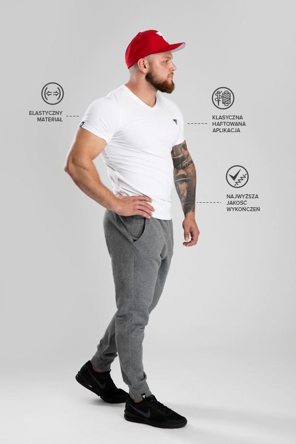 T-shirt V-Neck Trec 01 White
