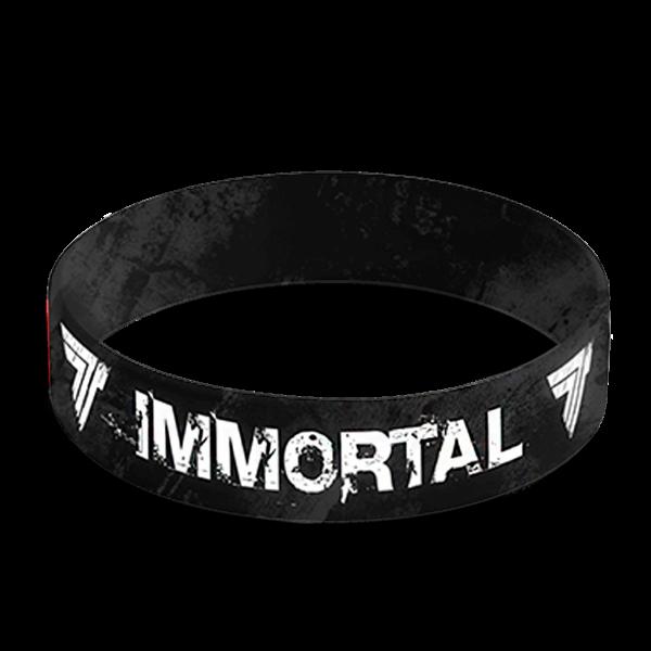 WRISTBAND 049 - IMMORTAL - BLACK