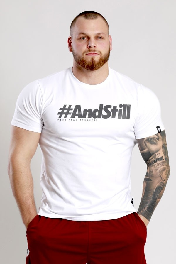 T-SHIRT 039 - #ANDSTILL - WHITE