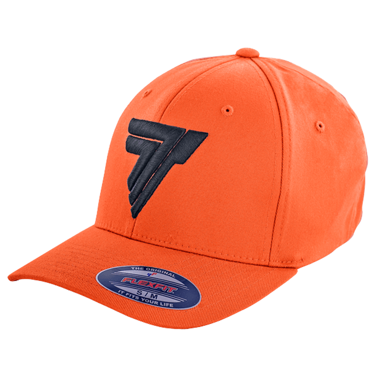 FULLCAP 005 - BLAC LOGO - ORANGE