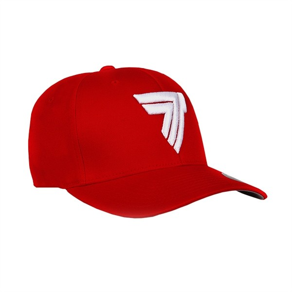 FULLCAP 009 - WHITE LOGO - RED