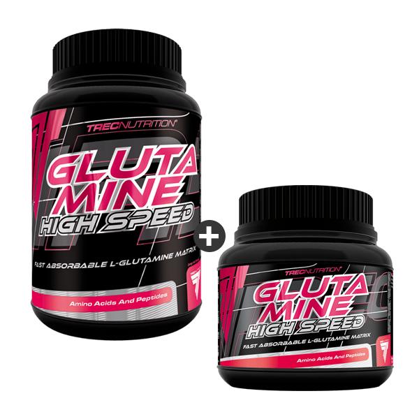 GLUTAMINE HIGH SPEED 500g + 250g
