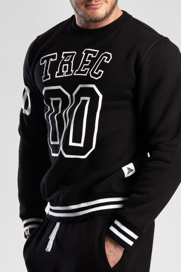 SWEATSHIRT 020 - TREC 00 - BLACK