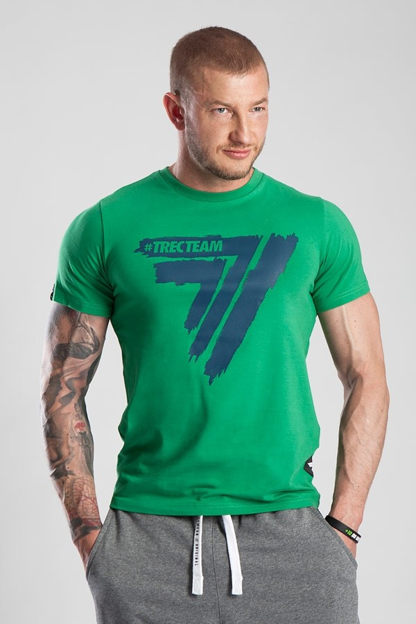 T-SHIRT - PLAY HARD 015 - GREEN