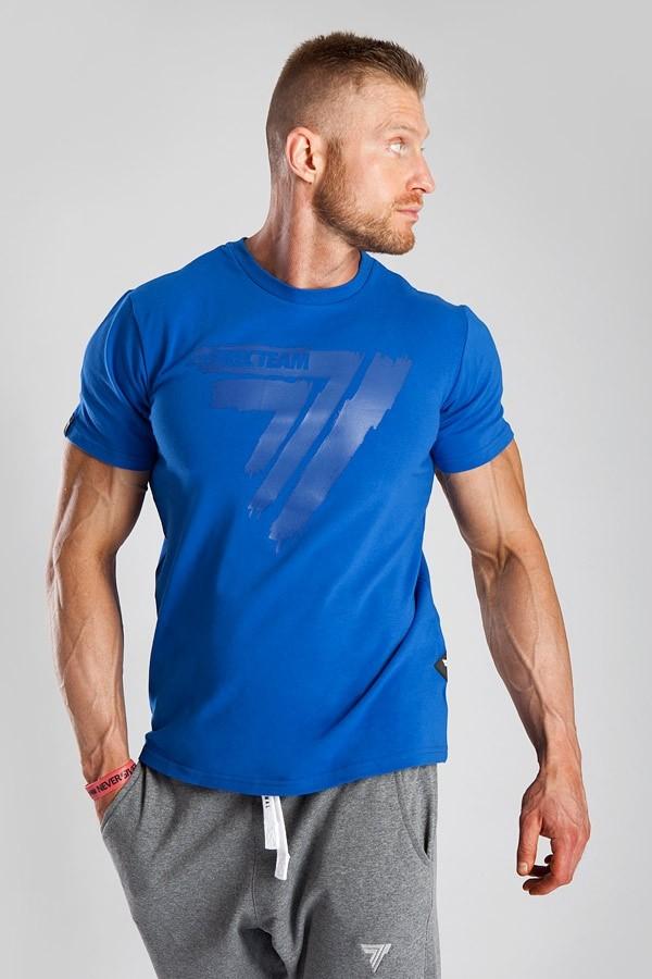 T-SHIRT - PLAY HARD 016 - BLUE