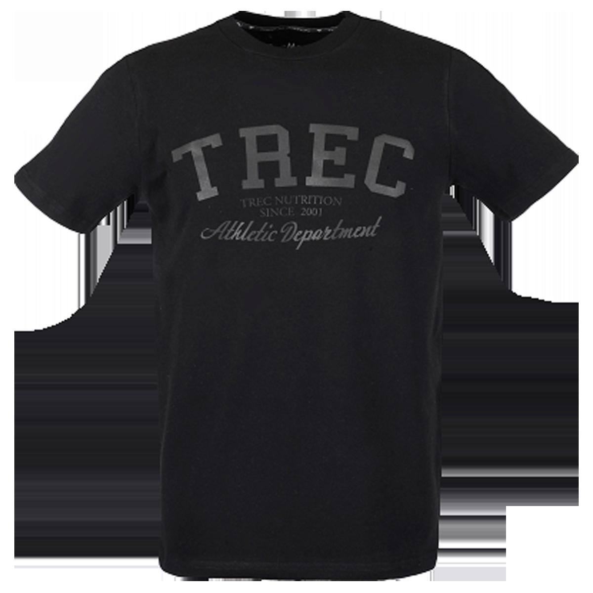 T-SHIRT 011 - TREC BLACK - BLACK