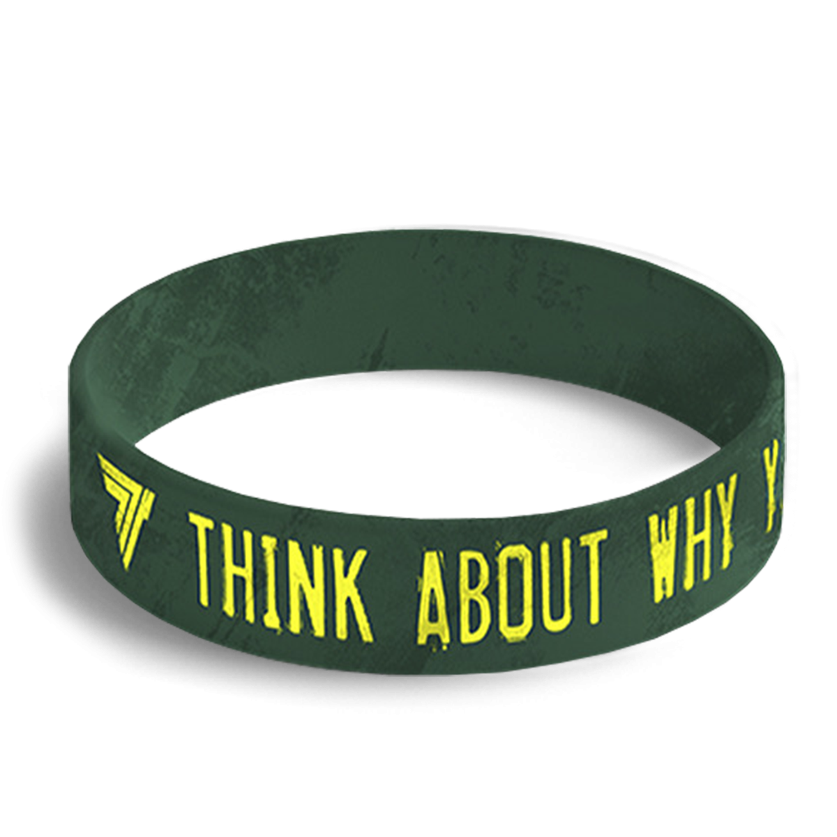 WRISTBAND 040 - THINK ABOUT WHY YOU STARTED