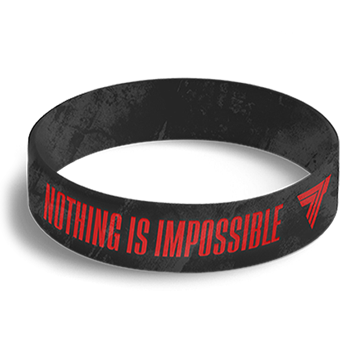 WRISTBAND 042 opaska sportowa - NOTHING IS IMPOSSIBLE