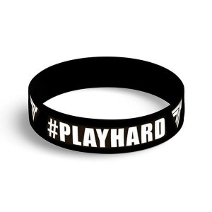 WRISTBAND 086 PLAYHARD BLACK