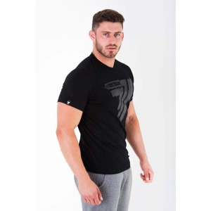 T-SHIRT - PLAY HARD 009 - BLACK